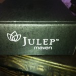 the one with my first Julep box