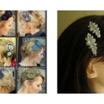 the one with hair accessories