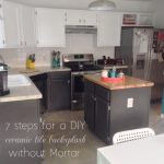 the one about our DIY tile backsplash