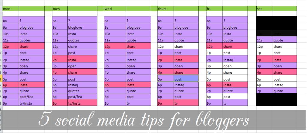 socialmediatipsforbloggers