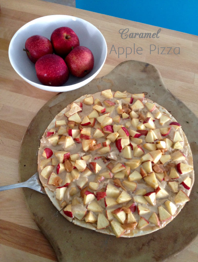caramelapplepizza