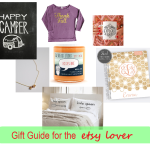 the one with an etsy lovers gift guide