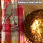 the one with sausage and kale quiche
