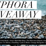 a sephora giveaway