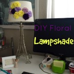 the one with a diy lampshade