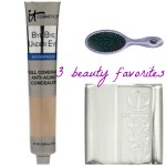 the one with 3 beauty favorites