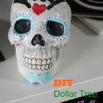 the one with DIY sugar skull