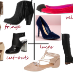 the one with fall shoe trends