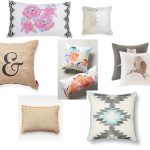 the one with throw pillows