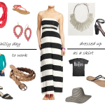 4 different ways to wear a maxi dress