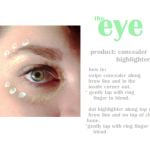 Brighten and conceal