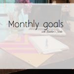 the one with october goals