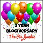 The pin junkie's blogiversary!!