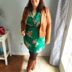 the one about the green floral dress