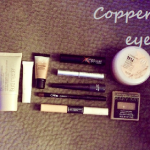 the one with copper makeup