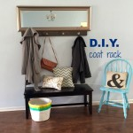 the one about a DIY coat rack