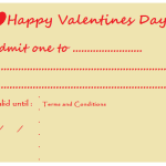 the one with a valentine's day printable
