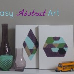 the one with Easy Abstract Art