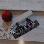 the one with our Christmas cards 2015