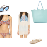 5 pieces 1 outfit : spring beach
