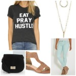 5 pieces 1 outfit: graphic tee